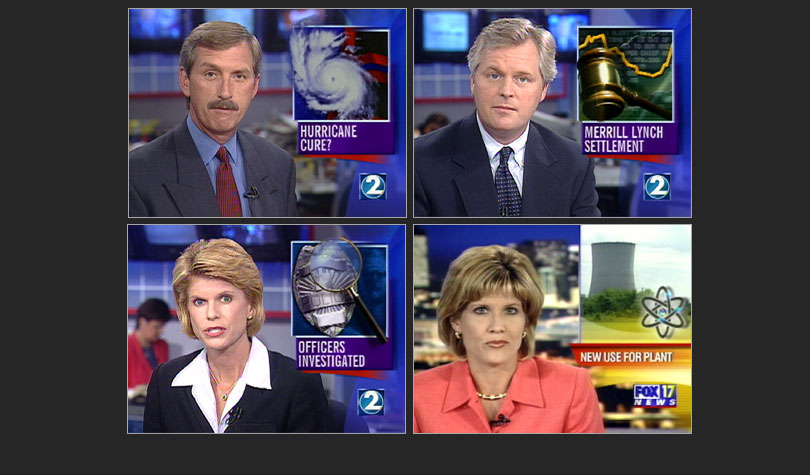 TV News 'Over the Shoulder' Graphics